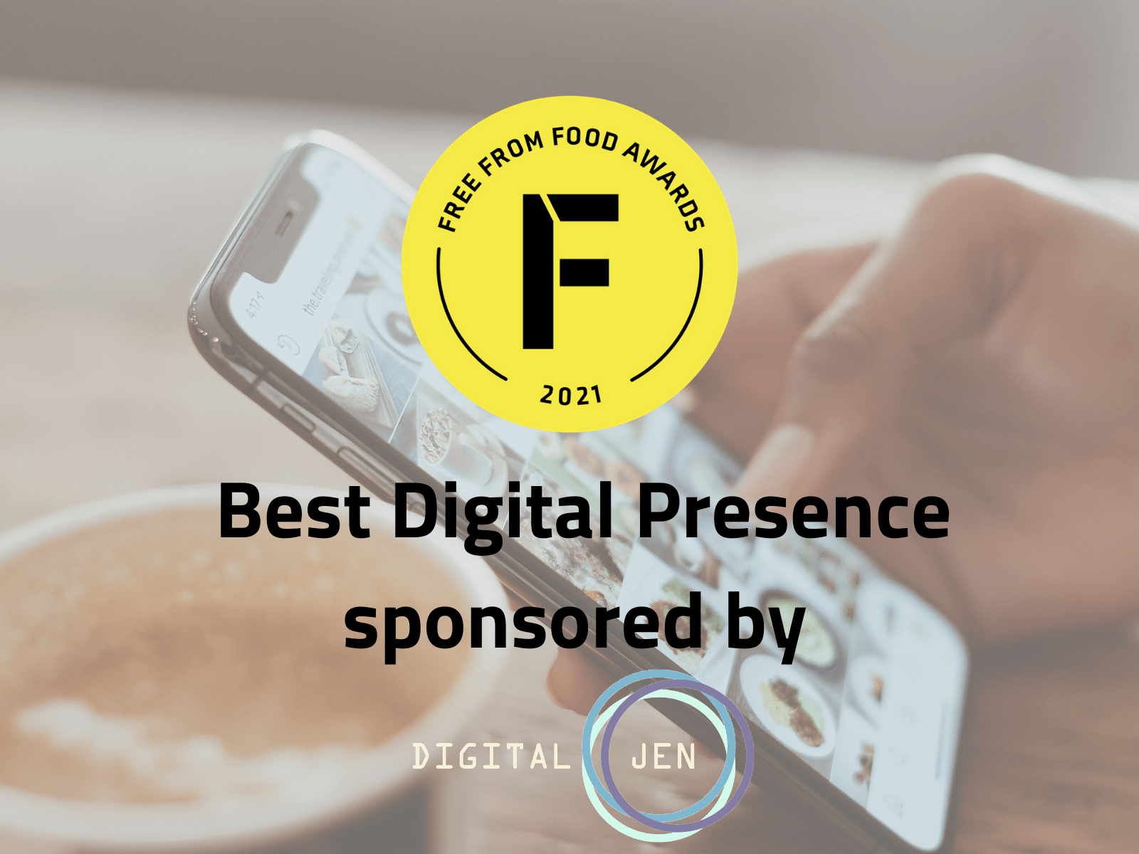 freefrom food awards, digital presence, digitaljen